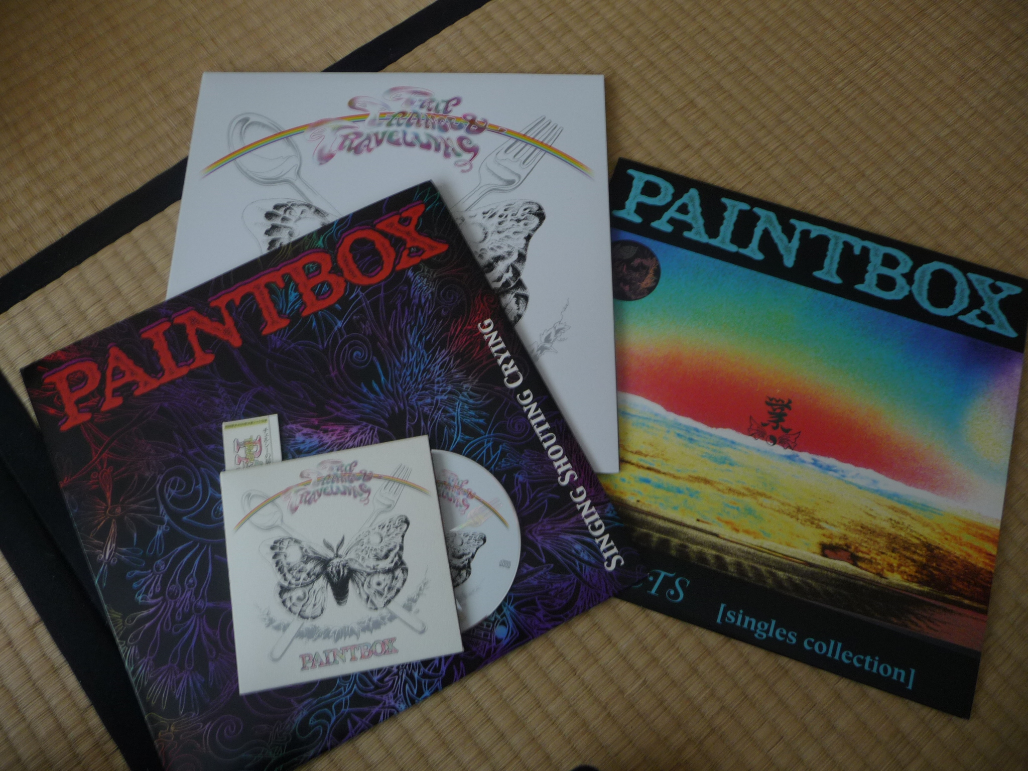 Paintbox Jagged Visions Zine